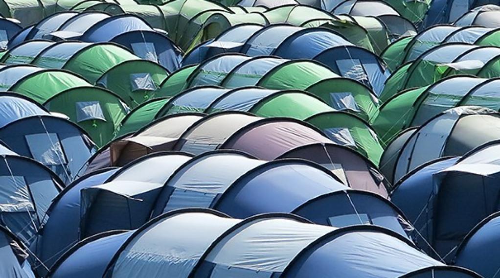 det rigtige telt
